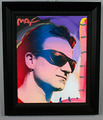 Peter Max artwork: Bono owned by Tim Durham
