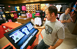 Finish Line introduces in-store kiosks to make custom T-shirts