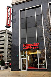 Flagstar Bank branch at Penn and Washington in downtown Indy now will be a First Financial