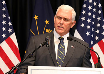 Some prior Pence donors pull back