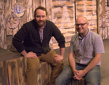 LOU'S VIEWS: Zack Neiditch and Zach Rosing playfully tweak local theater