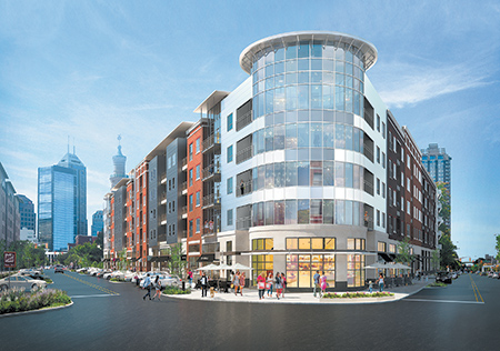 New wave of downtown apartment projects to test demand