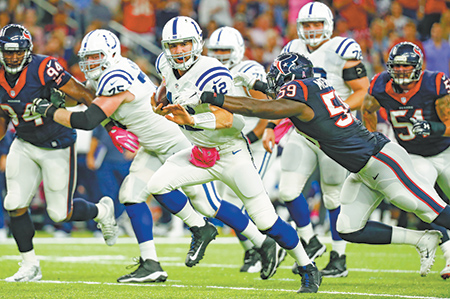 Local ratings for Colts games increase as viewership for NFL drops