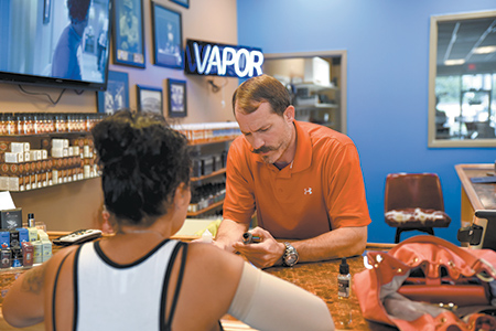 Vaping industry takes off after monopoly removed