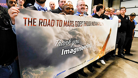 Hoosier firms helping NASA chase lofty goal to send astronauts to Mars