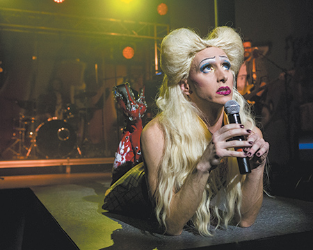 LOU'S VIEWS: Intimate 'Hedwig' rocks on