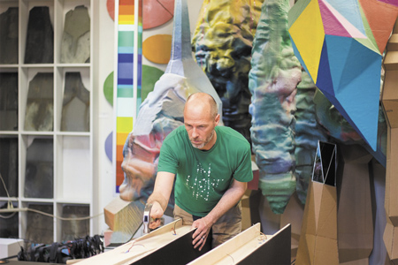 Harrison Center evolves into arts hub