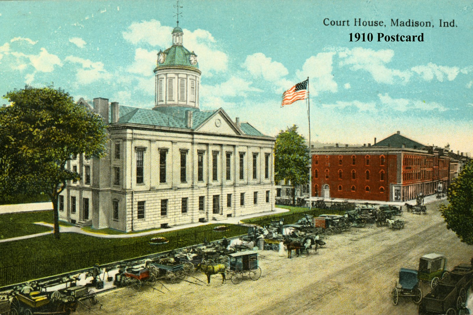 Jefferson County Courthouse postcard