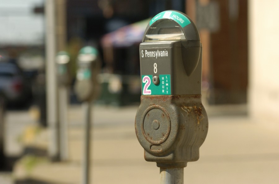 Indianapolis parking meter