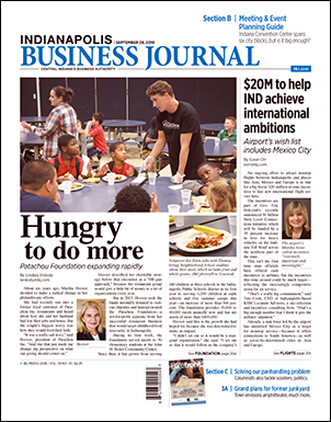 Indianapolis Business Journal - September 21-27, 2018