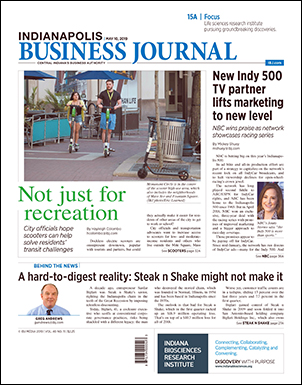 Indianapolis Business Journal - May 10-16, 2019